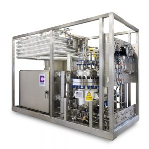 Continuous Flow Microwave Heating Reactor